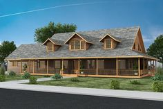 House Plan 039-00590 - Mountain Plan: 7,518 Square Feet, 4 Bedrooms, 4.5 Bathrooms