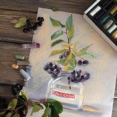 """716 Likes, 11 Comments - Irina klimova (@irinaklimova) on Instagram: """"Осень - такое благотворное время для рисования!!! Столько ягод, овощей, все такое живописное!!!!…"""""""