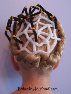 Halloween Girls Hairstyle
