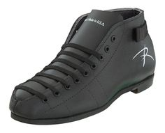 RIEDELL BOOT MODEL 122 Finished split leather upper Dri-Lex® lining Snug tie Stitched rubber outsoles Hand-made in U.S.A.