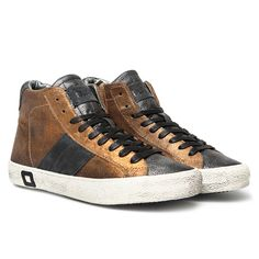 HILL HIGH STARDUST BRONZE Autumn Winter 2014 Premium D.A.T.E. Sneakers Collection www.date-sneakers.com