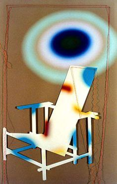 "photography by Gaston Bertin. ""De Stijl chair, 2004."