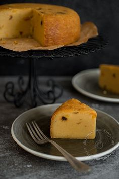 leches dulce de leche seeps in dulce de leche cornmeal and milk cake ...