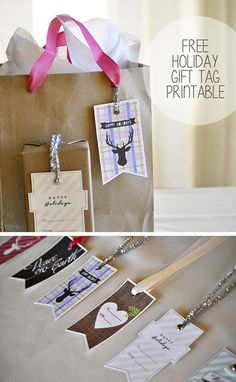 Free Holiday Gift Tag Printable Pictures, Photos, and Images for Facebook, Tumblr, Pinterest, and Twitter