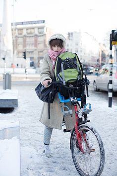 Friday, January 25, 2013  On the Street…..Somewhere in Frozen Amsterdam, Amsterdam