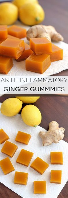 Anti-Inflammatory Ginger Gummies