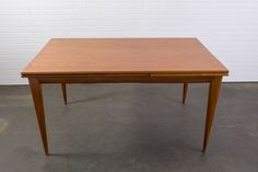 Danish Modern Teak Dining Table with Leaves by J.L. Moller  $2400  MIDCENTURY MODERN FINDS