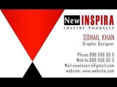 Photoshop Tutorial Make Business Card 7