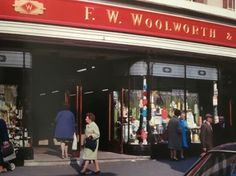 Woolworths Shop in Rye Lane Peckham South East London England East End London, South London, Vintage London, Old London, London Pictures, Old Pictures, London History, Historical Pictures, Street Photo