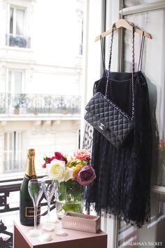 Girls' night in Paris - Adalmina's Secret