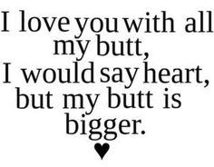 ... hahahahaha :D but it's true! :) xo ♥