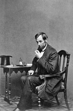 Abraham Lincoln by Mathew Brady