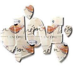 Tresor Perfume, Lancome Paris, Dragon Ball, Alphabet, Seamless Textures, Place Card Holders, Cosmetics, Lettering, Everything