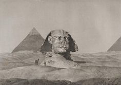 The Great Sphinx of Giza in Description de l'Egypte (1809, Panckoucke edition), Planches, Antiquités, volume V (1823), also published in t...