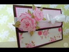 Cómo hacer una Caja-Carpeta para fotos. *TUTORIAL SCRAPBOOK* - YouTube