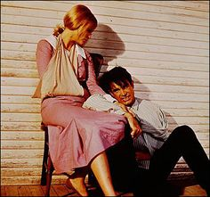 from the 1967 movie Bonnie and Clyde