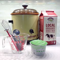 How to Make SCD Yogurt in a Crockpot