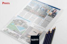 """Posta Gazetesi, 28 Ekim Cumartesi yayımlanan """"İnşaat Eki""""nde bize de yer verdi.    #postacomtr #postagazetesi #inşaat #barkodiçmimarlık #3DRender #dekorasyon"""