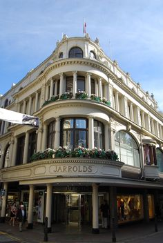 3 September | Norwich | Jarrolds entrance on Exchange Street, a family run department store since 1823