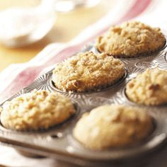Apple Crunch Muffins Recipe from Taste of Home::