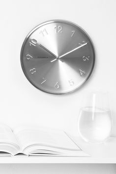 Trusty Silver Clock by Cloudnola | From Cloudnola.me
