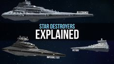 Imperial Star Destroyer Types Explained | Star Wars Legends Lore