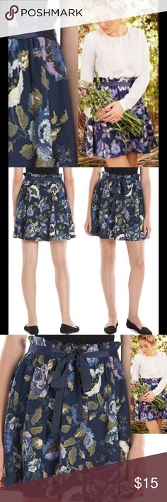 Circle Skirt Floral Paperbag Waistband XXL NWT Brand new with tag, please refer to pictures for details and description LC Lauren Conrad Skirts Circle & Skater