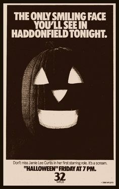 A 1986 advertisement for Halloween!