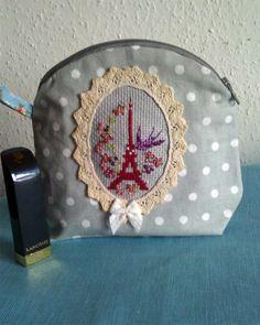 """Trousse """"Ciel de Paris"""", Les brodeuses parisiennes"""