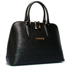 Cristiano Pompeo Italy handbag bag purse style alma leather epi all black gold…