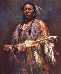 x 15 limited edition (only 1000 available) signed & numbered print of a Native American holding a sacred medicine pipe by artist Howard Terpning This print is signed and numbered and comes with a certificate of authenticity (COA). Native American Paintings, Native American Images, Native American Wisdom, Native American Artists, American Indian Art, Native American History, Indian Paintings, American Indians, Western Artists
