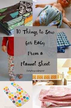 We're in full-on baby prep mode over here, and I always have a few projects I want to sew before baby arrives. So when Dana of Sew Thrifty invited me to be a part of her Thrifty Baby Celebrat…