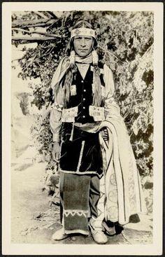 Jicarilla Apache man - 1930