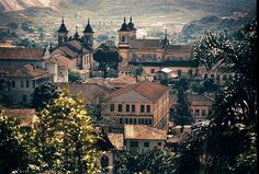 Baroque Towers - Mariana - MG - Brazil