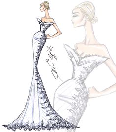 Bridal Couture 2014 by Hayden Williams: Look 1