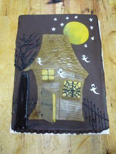 Escoffiette Blog, Halloween Cake