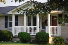 Awesome Front Porch Designs For Ranch Style Homes Photos ...