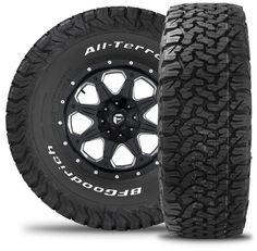 BFG All Terrain KO2 Tires