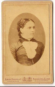 Goicana. Baronesa de; Feliciana Ignacia de Accioly Lins (LHFM-GVP)