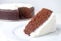 Yummy dense moist molasses cake with a hint of ginger and cream cheese frosting. Sweet Desserts, Sweet Recipes, Cake Recipes, Dessert Recipes, Molasses Cake, Spicy Bite, Gingerbread Cake, Cake Ingredients, Vegan Cake