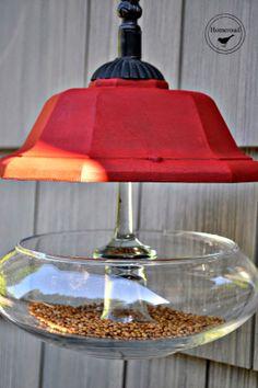 DIY Junky Bird Feeder @Homeroad.net
