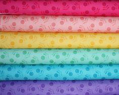 Essential Flora bundle by Free Spirit, Fat quarter bundle- 6 total on Etsy, $16.50