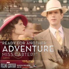 Agent Carter season 2, Peggy and Jarvis