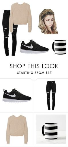 """HOME"" by maja-zmeskalova on Polyvore featuring interior, interiors, interior design, home, home decor, interior decorating, NIKE, Yves Saint Laurent and Givenchy"
