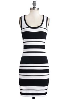 Predict Your Trajectory Dress, #ModCloth  Cute bandage dress -- just not my style