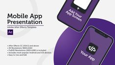 Buy New Mobile App Presentation - iOS & Android by on VideoHive. Ideal for App Developers, App-Publishers or Marketers who want to showcase their App by using video animations. New Mobile, Mobile App, Iphone Models, Easy To Use, New Iphone, Ios, App Development, Marketing, Presentation