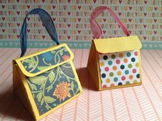 Cómo hacer una bolsa para regalo/How to make gift purse #SCRAPBOOK by #memorabiliascrapbooking