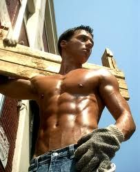 Remember peeps, don't go workin too hard today 😍 hothunk hotguy guys sexyguy boys men sexymen abs sixpack eyecandy guypics gorgeousmen gorgeousman hunk fitmen instaboy instaguy muscle quotesforher forher madeforher Working Man, Working Class, Working People, Rugged Men, V Lines, Tv Tropes, Construction Worker, Men In Uniform, Raining Men