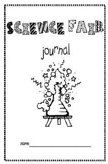 Printable science journal template