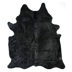 Solid Black Cowhide Rug is now available at lowest prices. Our natural black cowhide Rug is a perfect way to liven up. Black Cowhide Rug By Sevenhills. Cow Rug, Cow Skin Rug, Cow Hide Rug, Holy Cow Costume, White Cowhide Rug, Sheepskin Rug, Black Rug, Contemporary Home Decor, Leather